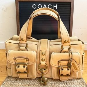 Coach - Industrial Leather Satchel